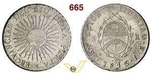 ARGENTINA      8 Reales 1813 J, Potosi.   ...