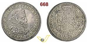 AUSTRIA  RODOLFO II  (1576-1612)  Tallero ...