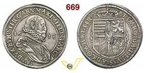 AUSTRIA  MASSIMILIANO III, Arciduca  ...