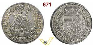 AUSTRIA  LEOPOLDO V, Arciduca  (1619-1625)  ...