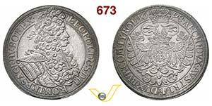 AUSTRIA  LEOPOLDO I  (1657-1705)  Tallero ...