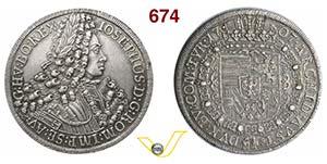 AUSTRIA  GIUSEPPE I  (1705-1711)  Tallero ...