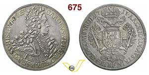 AUSTRIA  CARLO VI  (1711-1740)  Tallero ...