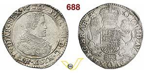 BRABANTE  FILIPPO IV DI SPAGNA  (1621-1665)  ...