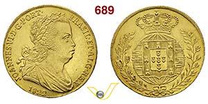 PORTOGALLO GIOVANNI VI  (1818-1822)  6400 ...