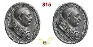 PAOLO II, Papa  (1464-1471)  Medaglia s.d. ...