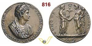 COSTANTINO I, il Grande  (1468)  Medaglia ...