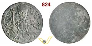 BOLOGNA - SAN PETRONIO  (1525)  Medaglia ...