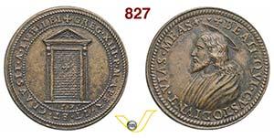 GREGORIO XIII, Papa  (1572-1585)  Medaglia ...