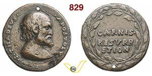 SAN TADDEO, Apostolo  (1575)  Medaglia s.d. ...