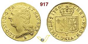 FRANCIA  LUIGI XVI  (1774-1792)  Luigi doro ...