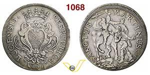 LUCCA  REPUBBLICA  (1369-1799)  Scudo ...