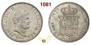 NAPOLI  FERDINANDO II  (1830-1859)  120 ...