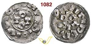 PAVIA  OTTONE III  (983-1002)  Denaro.  D/ ...