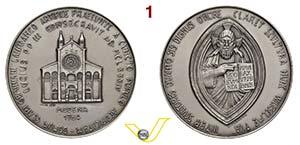 LUCIO III  1181/1185  POSTUMA  1984  per ...