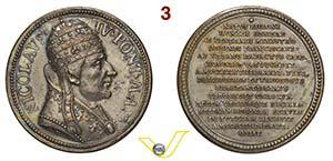 NICCOLO' IV    1288/1292  MEDAGLIA DI ...