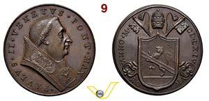PAOLO II  1464/1471  1464 ANNO I MEDAGLIA DI ...
