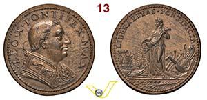 LEONE X  1513/1521  RICONIO SUCCESSIVO per ...