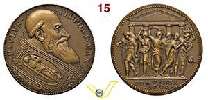 PAOLO III  1534/1549  SENZA DATA  RICONIO ...
