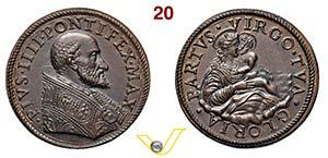 PIO IV   1559/1565  SENZA DATA  RICONIO ...
