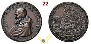 PIO V  1566/1572  1571 ANNO VI RICONIO ...