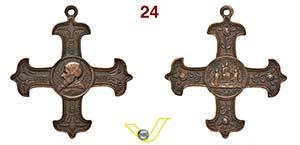 PAOLO V  1566/1572  POSTUMA medaglia a forma ...