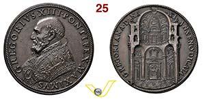 GREGORIO XIII  1572/1585  RICONIO SUCCESSIVO ...