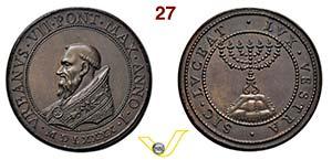 URBANO VII  1590  1590 ANNO I RICONIO ...