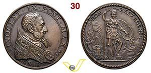 INNOCENZO IX  1591  1591 ANNO I RICONIO ...
