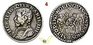 FERRARA - ERCOLE II DESTE  (1534-1559)  ...