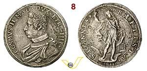 FIRENZE - COSIMO II DE MEDICI  (1609-1621)  ...