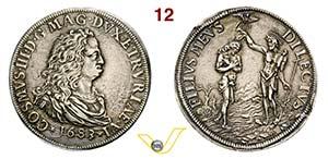 FIRENZE - COSIMO III DE MEDICI  (1670-1723) ...