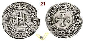 GENOVA - FRANCESCO I DI FRANCIA  (1527-1528) ...
