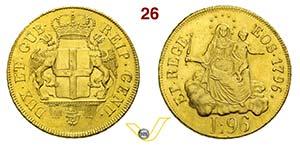 GENOVA - DOGI BIENNALI  (1637-1797, III ...