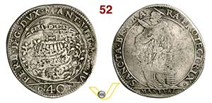 MANTOVA - FERDINANDO GONZAGA  (1612-1626)  ...