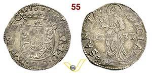 MANTOVA - CARLO I GONZAGA  (1627-1637)  Lira ...