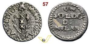 MANTOVA - REPUBBLICA CISALPINA  (1797-1799)  ...