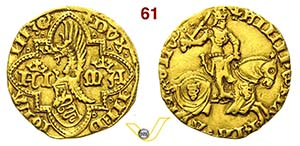 MILANO - FILIPPO MARIA VISCONTI  (1412-1447) ...