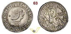 MILANO - GALEAZZO MARIA SFORZA  (1466-1476)  ...
