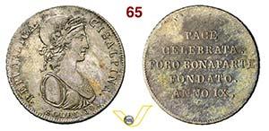 MILANO - REPUBBLICA CISALPINA  (1800-1802)  ...