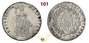 NAPOLI - REPUBBLICA NAPOLETANA  (1799)  ...