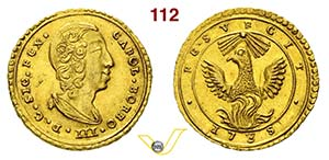 PALERMO - CARLO III DI BORBONE  (1734-1759)  ...