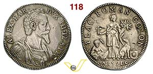 PIACENZA - ALESSANDRO FARNESE  (1586-1592)  ...