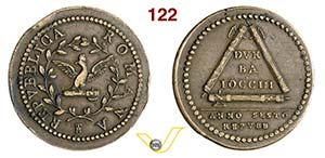 ROMA - PRIMA REPUBBLICA ROMANA  (1798-1799)  ...