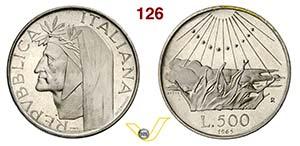 ROMA - REPUBBLICA ITALIANA  (1946-...)  500 ...