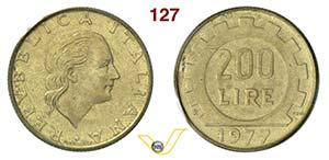 ROMA - REPUBBLICA ITALIANA  (1946-...)  200 ...