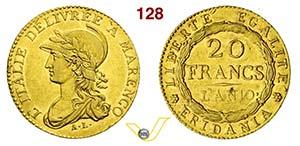 TORINO - REPUBBLICA SUBALPINA  (1800-1802)  ...