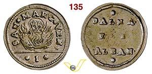 VENEZIA - MONETAZIONE ANONIMA  (1626-1797)  ...