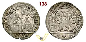 VENEZIA - GIOVANNI CORNER II  (1709-1722)  ...