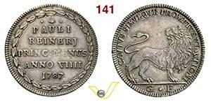 VENEZIA - PAOLO RENIER  (1778-1789)  Osella ...